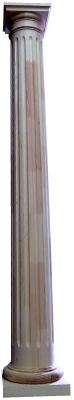 Tuscan Fluted Wood