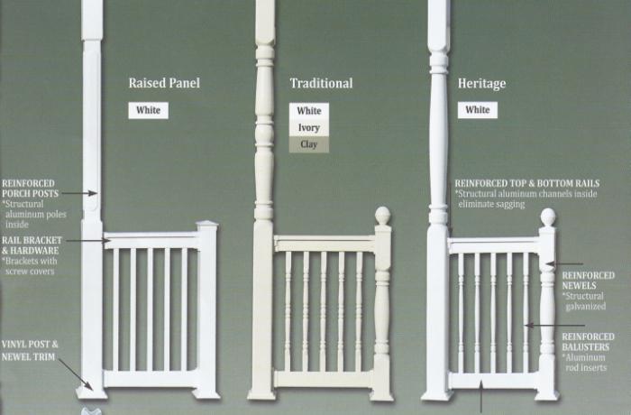 Vinyl Posts Amp Rails Colonial Pillars