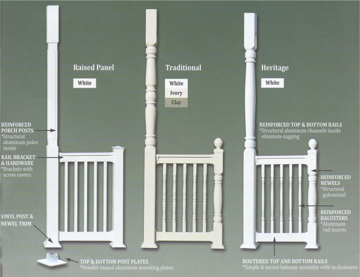 worthington columns column pvc affordable product category panel porch millwork raised