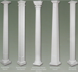 Columns On Front Porch Curb Appeal