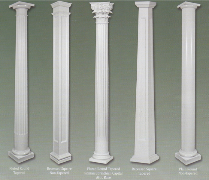 Home depot interior columns home design and style for Fiberglass interior columns
