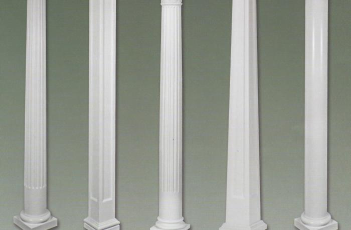 Fiberglass Columns Colonial Pillars