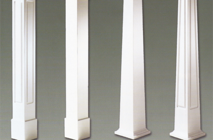 Pvc craftsman column wraps colonial pillars Craftsman columns