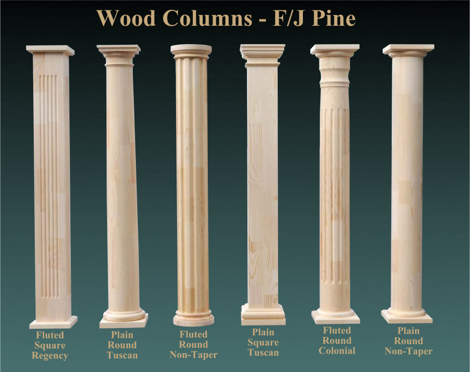 Porch Pillar Covers Porch Column Wraps Home Depot