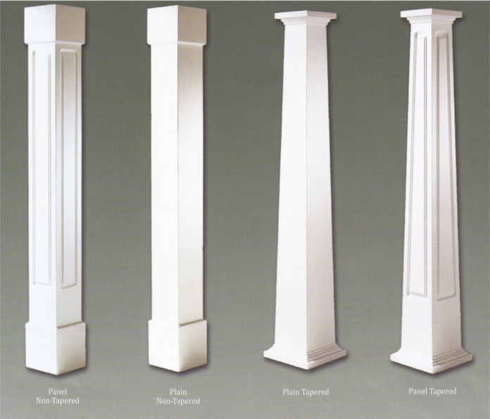 Pvc Craftsman Column Wraps Colonial Pillars